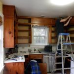 Photo of kitchen renovation